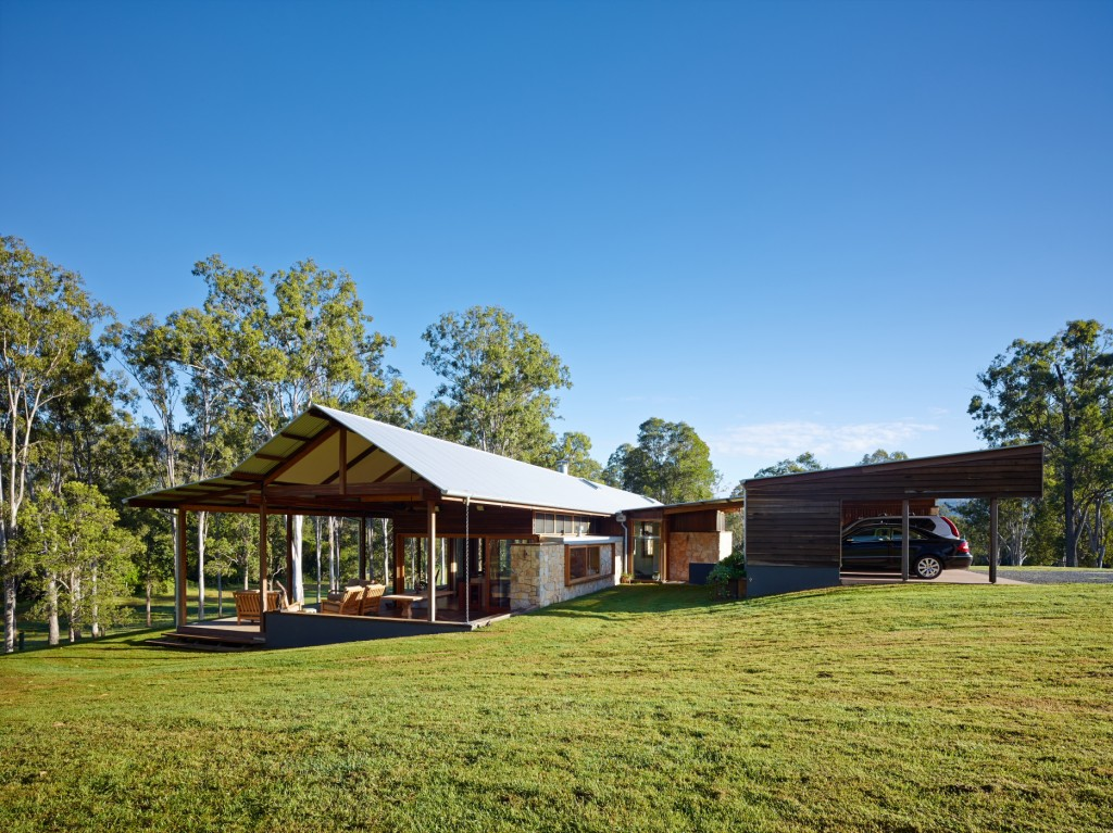 Tucker Lane House by Shaun Lockyer Architect