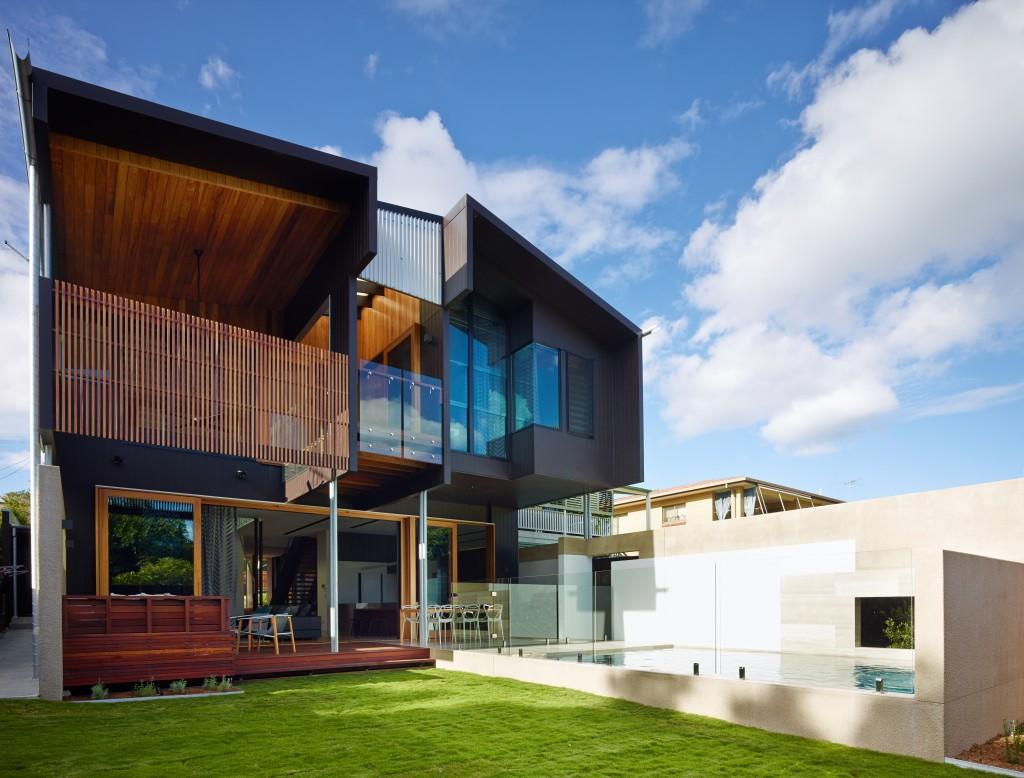 Hawthorne St House by Shaun Lockyer Architect