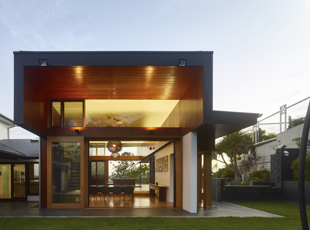Markwell St House by Shaun Lockyer Architect